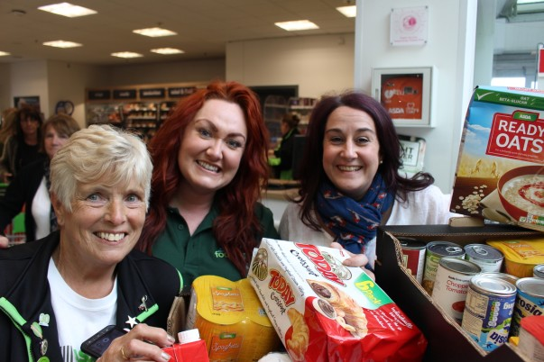 Donation from Asda Fight Hunger Create Change to Liverpool North Foodbank