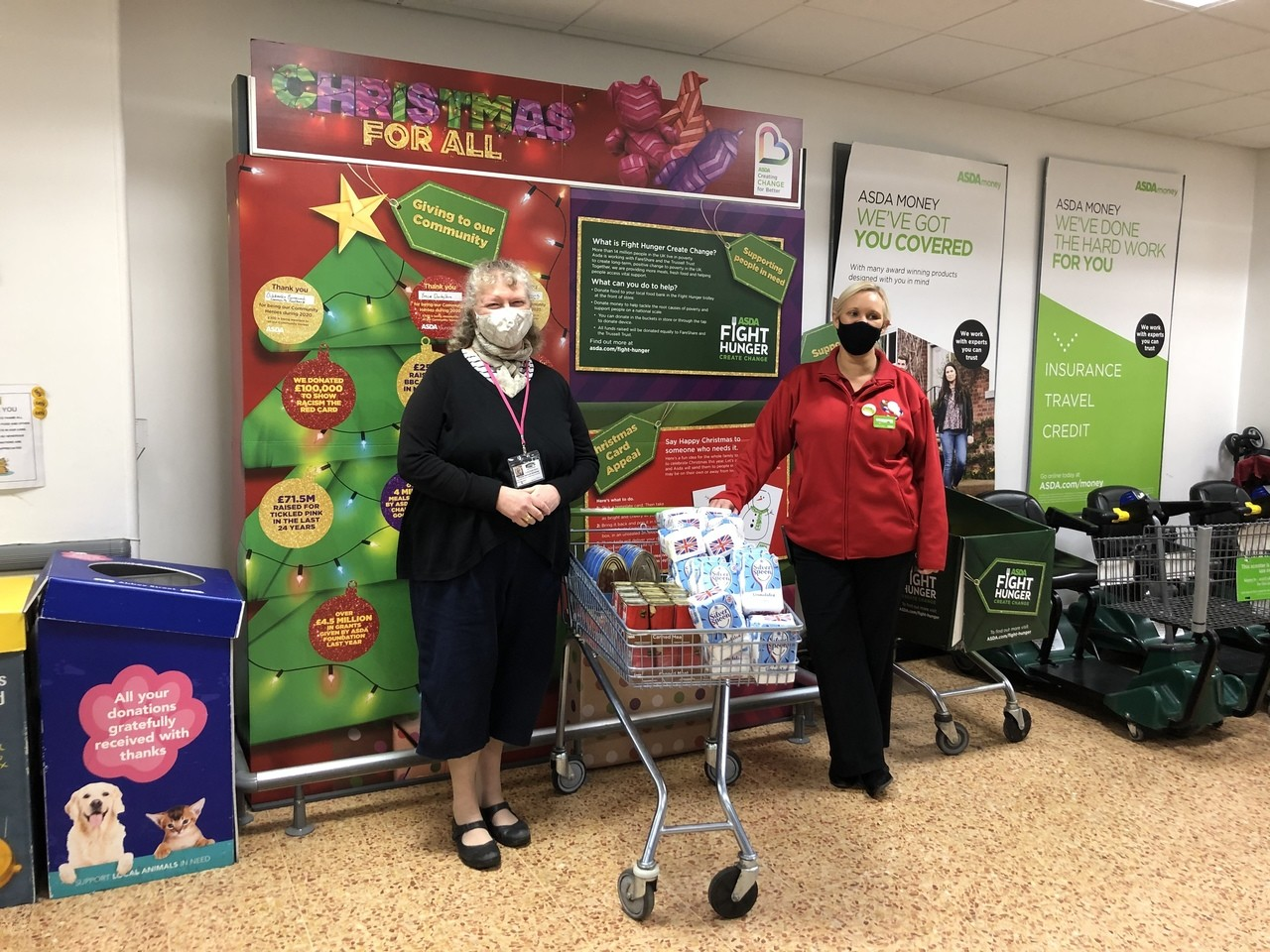 Supporting our Derby Food 4 Thought Alliance | Asda Derby