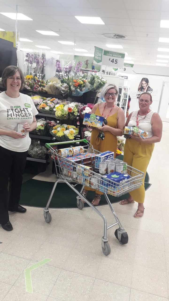 Support for Red Hall Primary School Breakfast Club | Asda Darlington