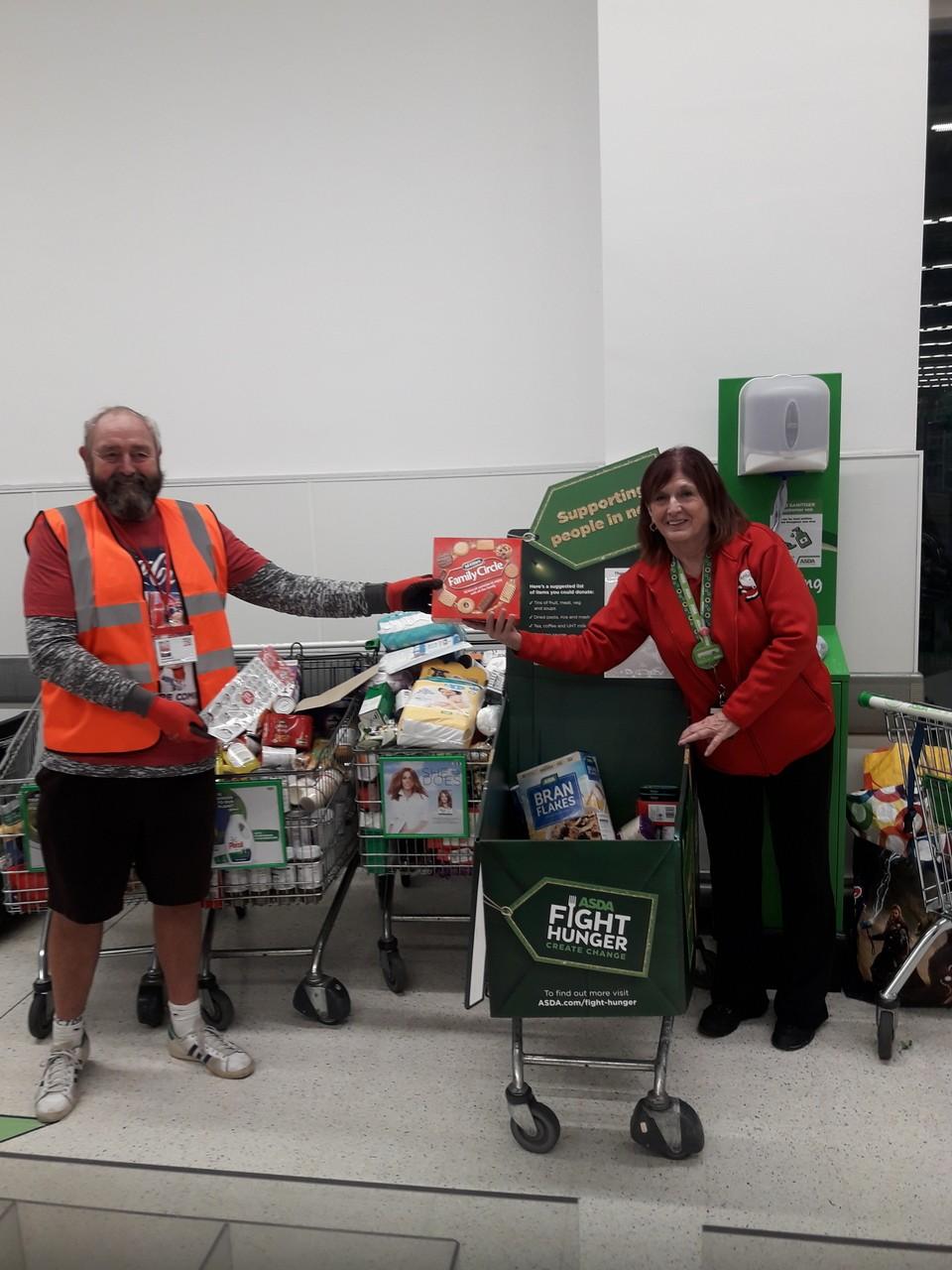 Foodbank thanks | Asda Poole