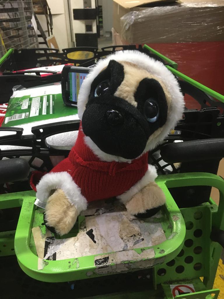 Meet Boris – the home shopping mascot at Asda Leyton Mills | Asda Leyton Mills