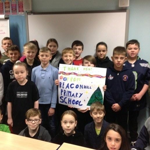 School thanks | Asda Cramlington