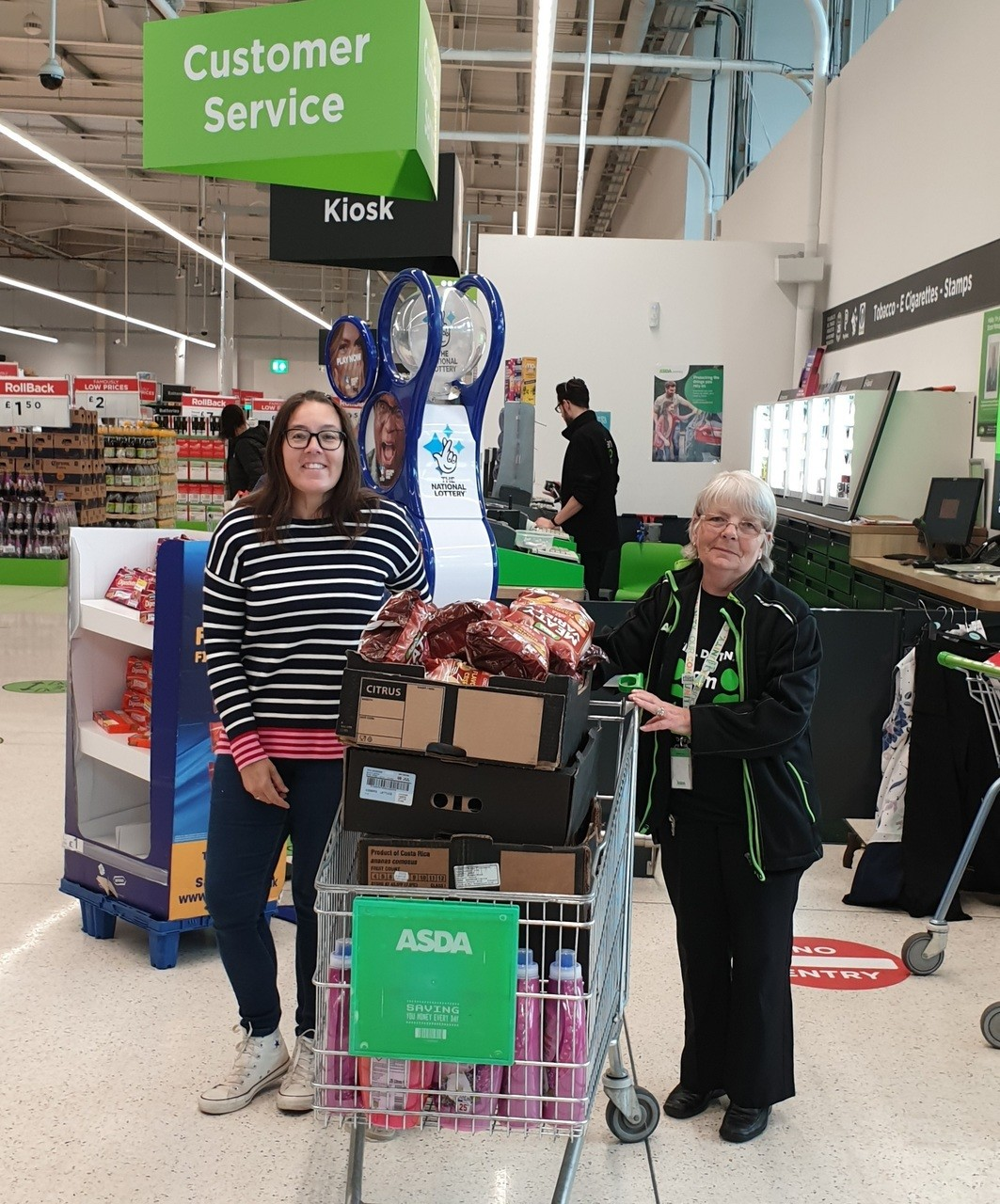 Support for Home-Start and Leominster Food Bank | Asda Hereford