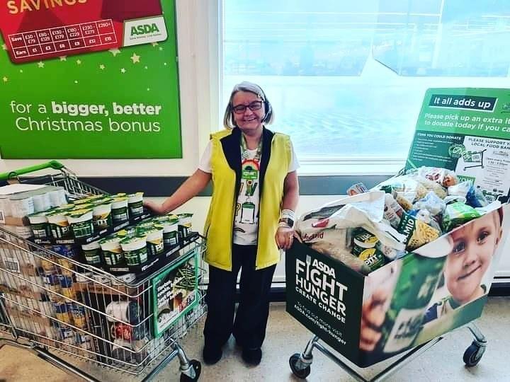 Fight Hunger Create Change support | Asda Sutton in Ashfield