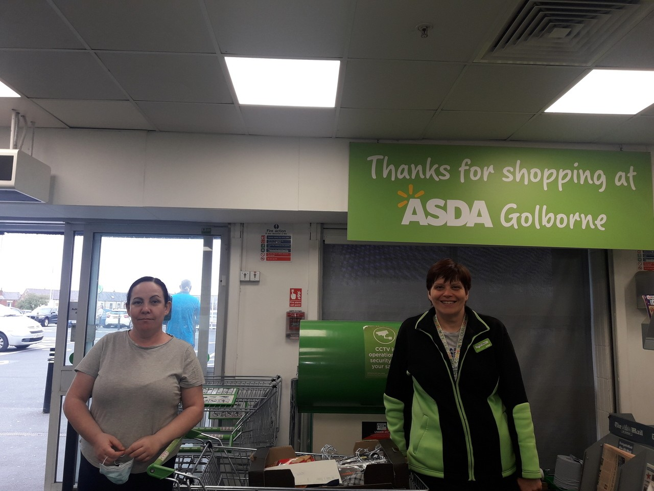 Donation to Golborne House  | Asda Golborne