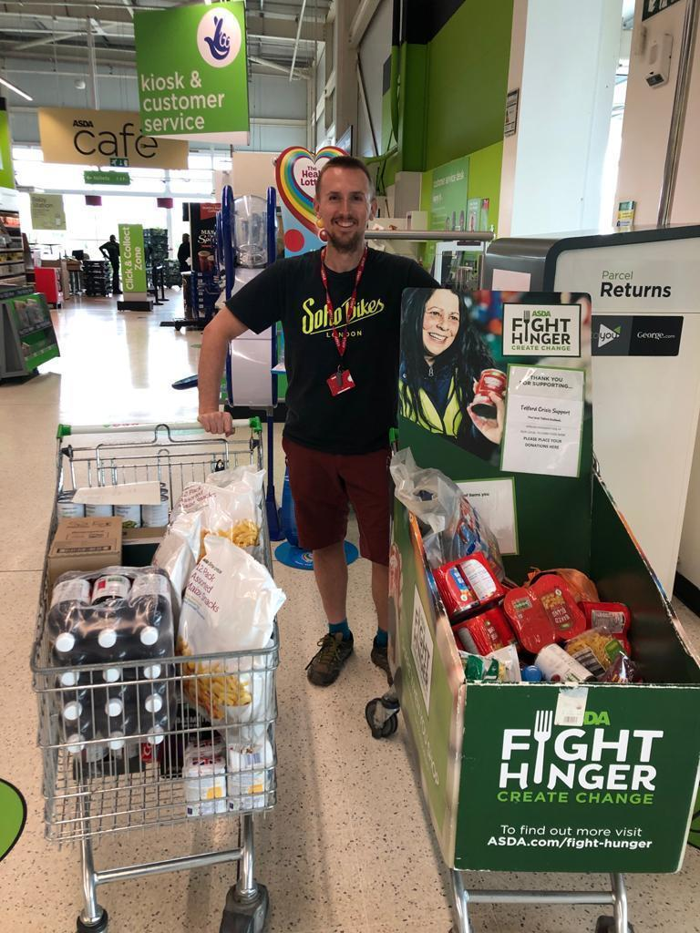 Fighting hunger , the fight goes on.. | Asda Telford