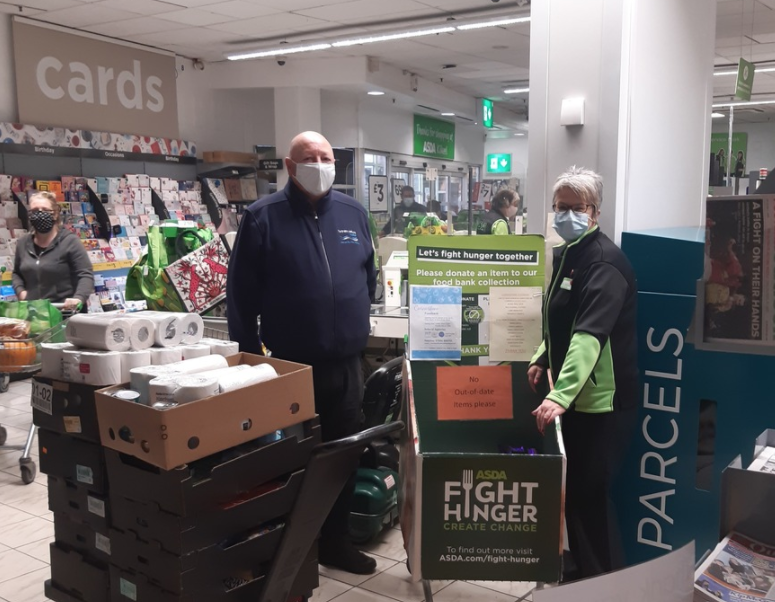 Supporting local food bank | Asda Kilkeel