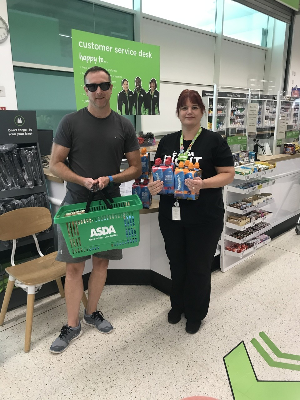 Donation time | Asda Blackwood
