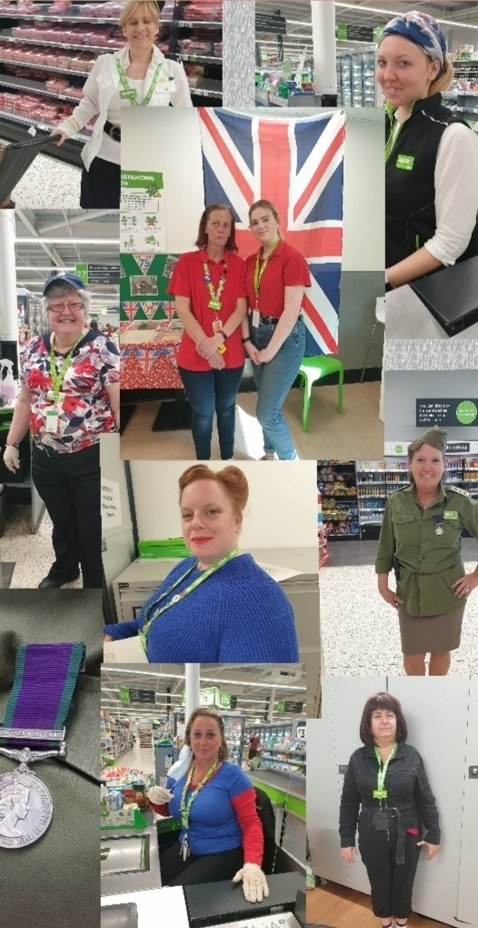 VE Day celebrations | Asda Newport Isle of Wight