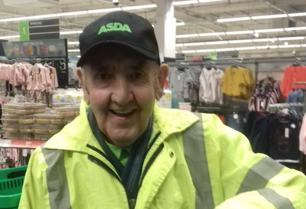 Joe Moran from Asda Breck Road