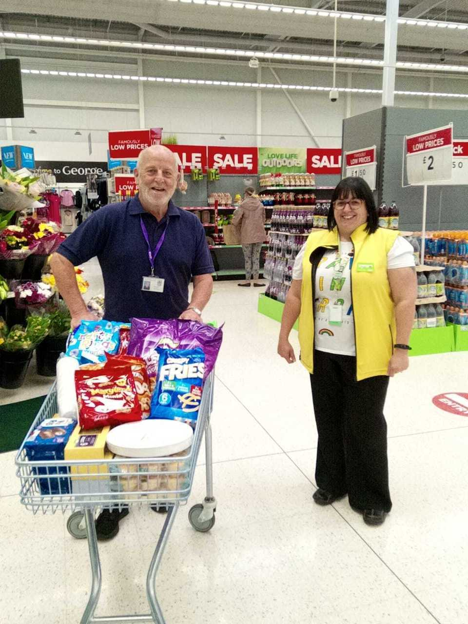 Picnic donation | Asda Worcester