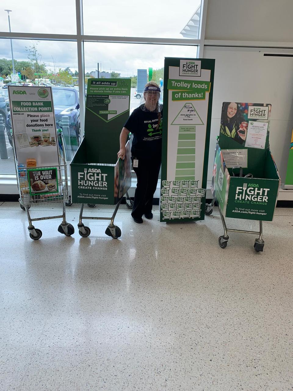 Supporting our local foodbank | Asda Milton Keynes