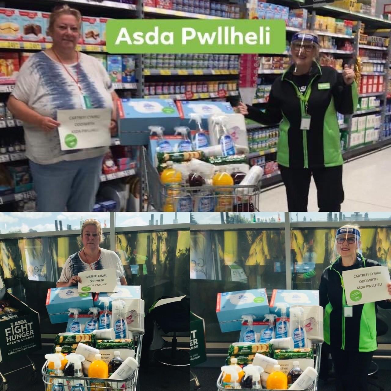 Goods donations | Asda Pwllheli