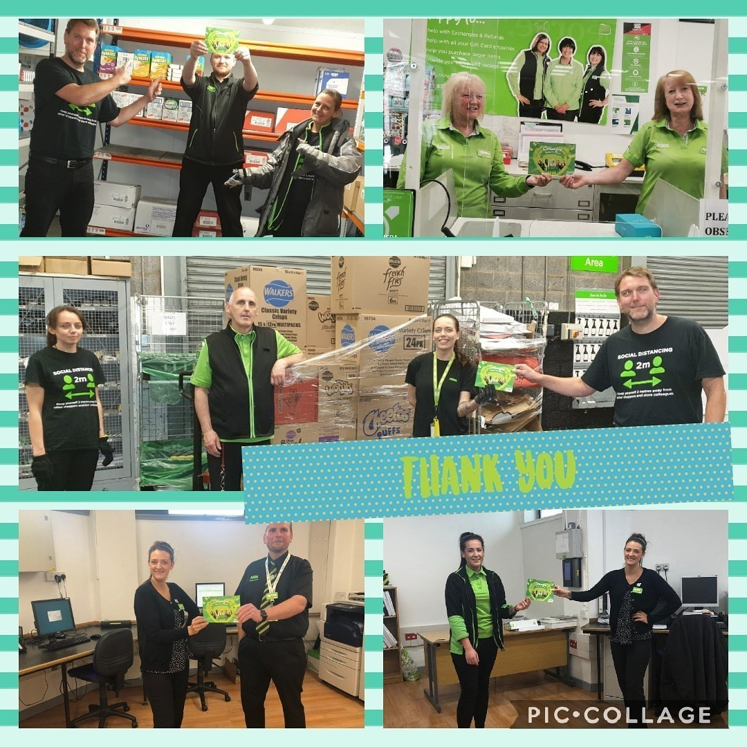 Thank you to our amazing colleagues | Asda Falkirk