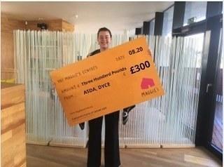 Maggie's in Aberdeen donation | Asda Dyce