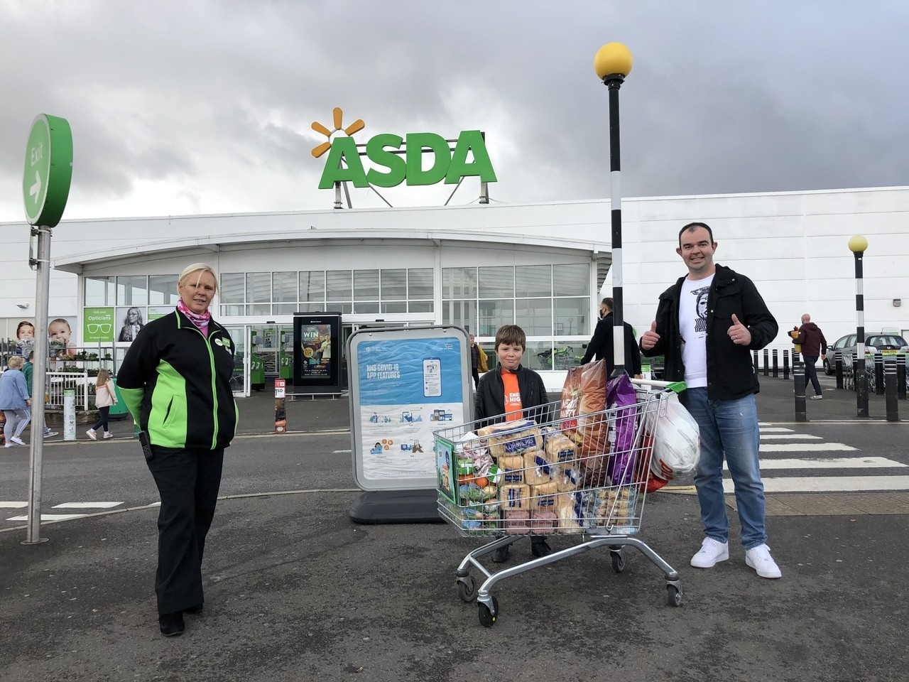 Lending a hand this half term  | Asda Derby