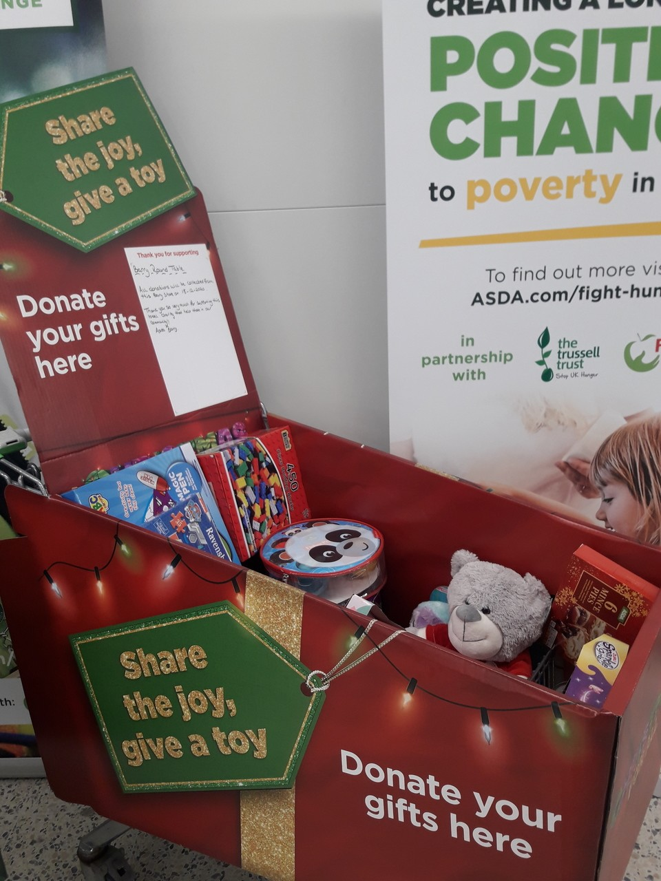 Our toy donation! | Asda Barry