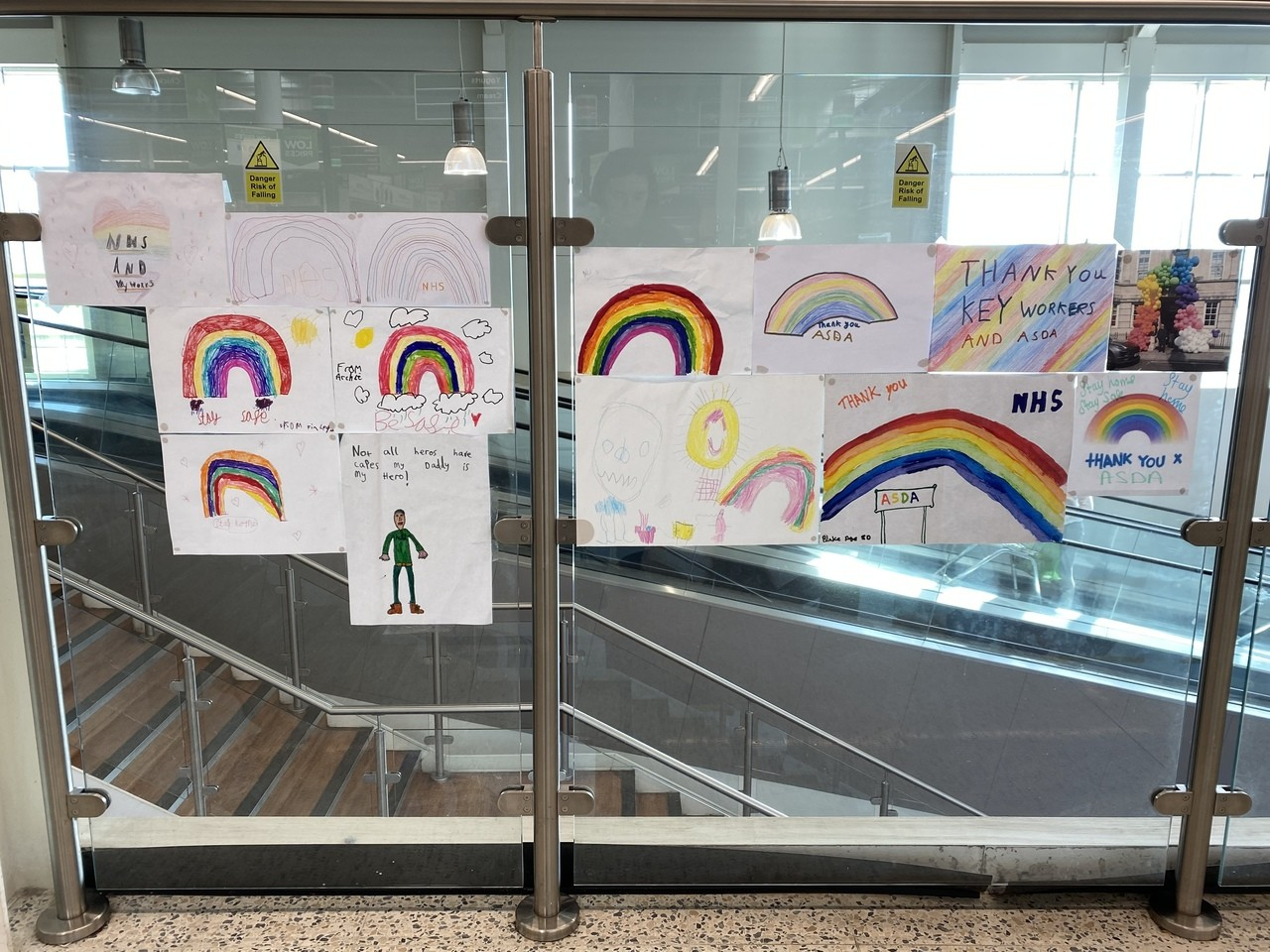 Thank you to all our key workers🌈 | Asda Ware