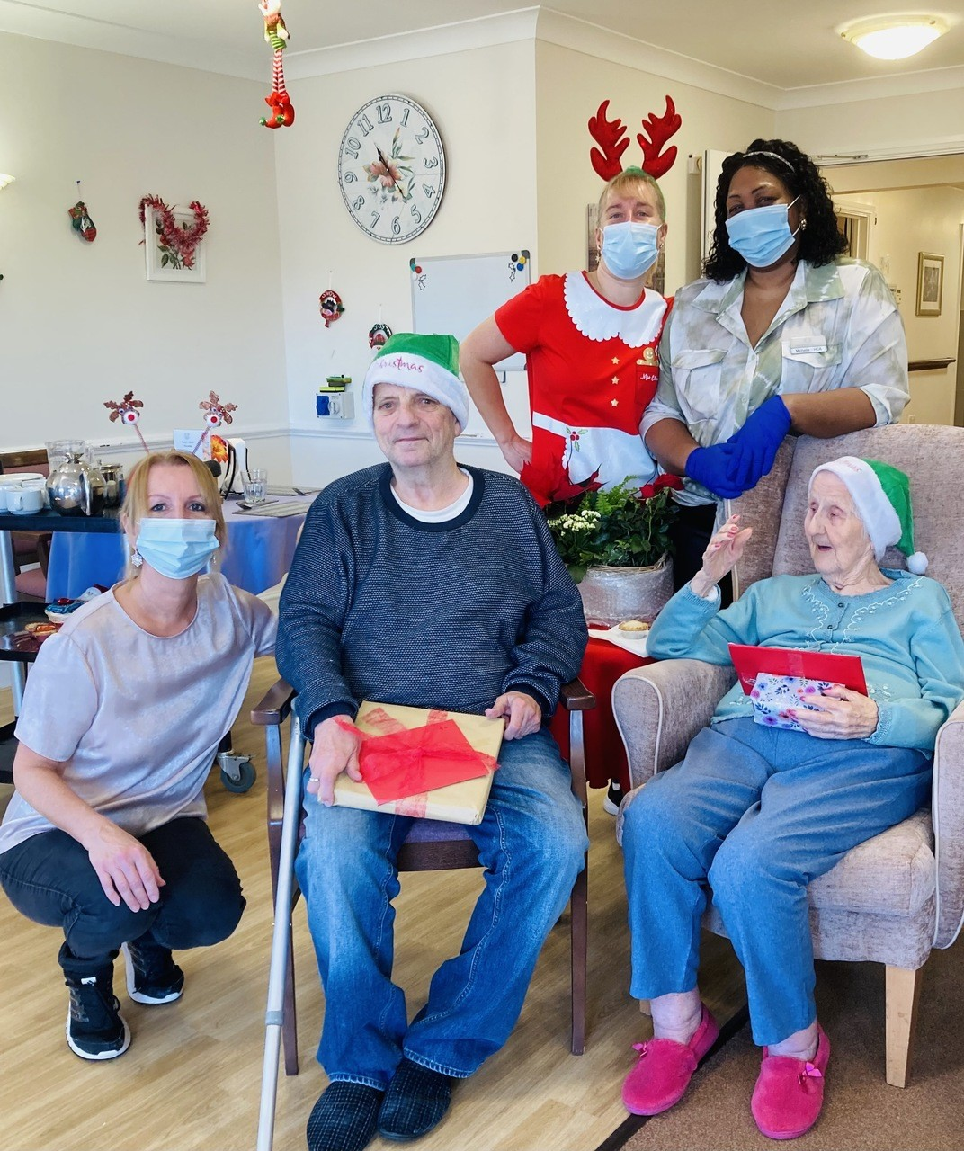 Christmas at Sovereign Lodge Care Centre | Asda Eastbourne
