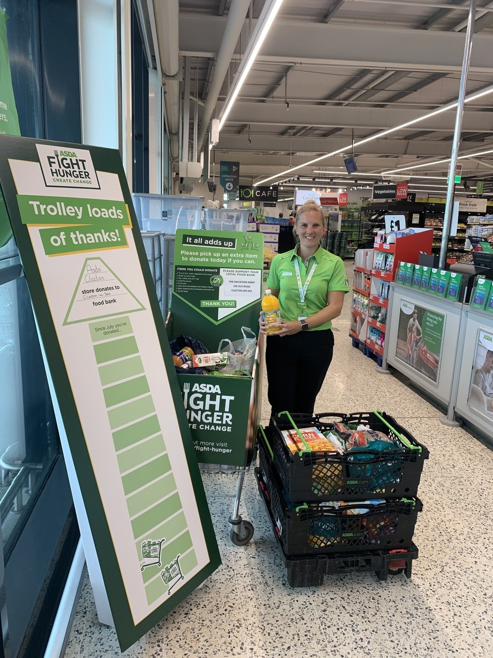 Thanks to our generous customers  | Asda Clacton-on-Sea
