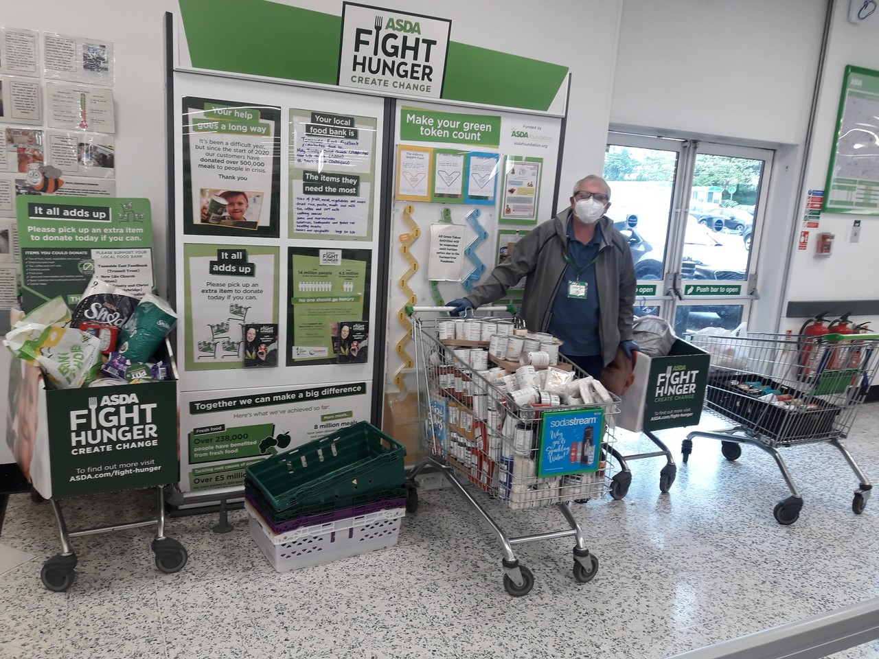 Support for Fight Hunger Create Change | Asda Ashton