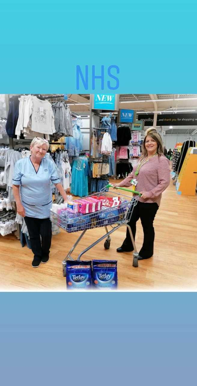NHS Donation | Asda Motherwell