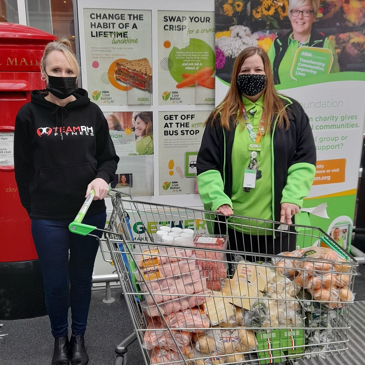Hot meals for pupils | Asda Lincoln North Hykeham