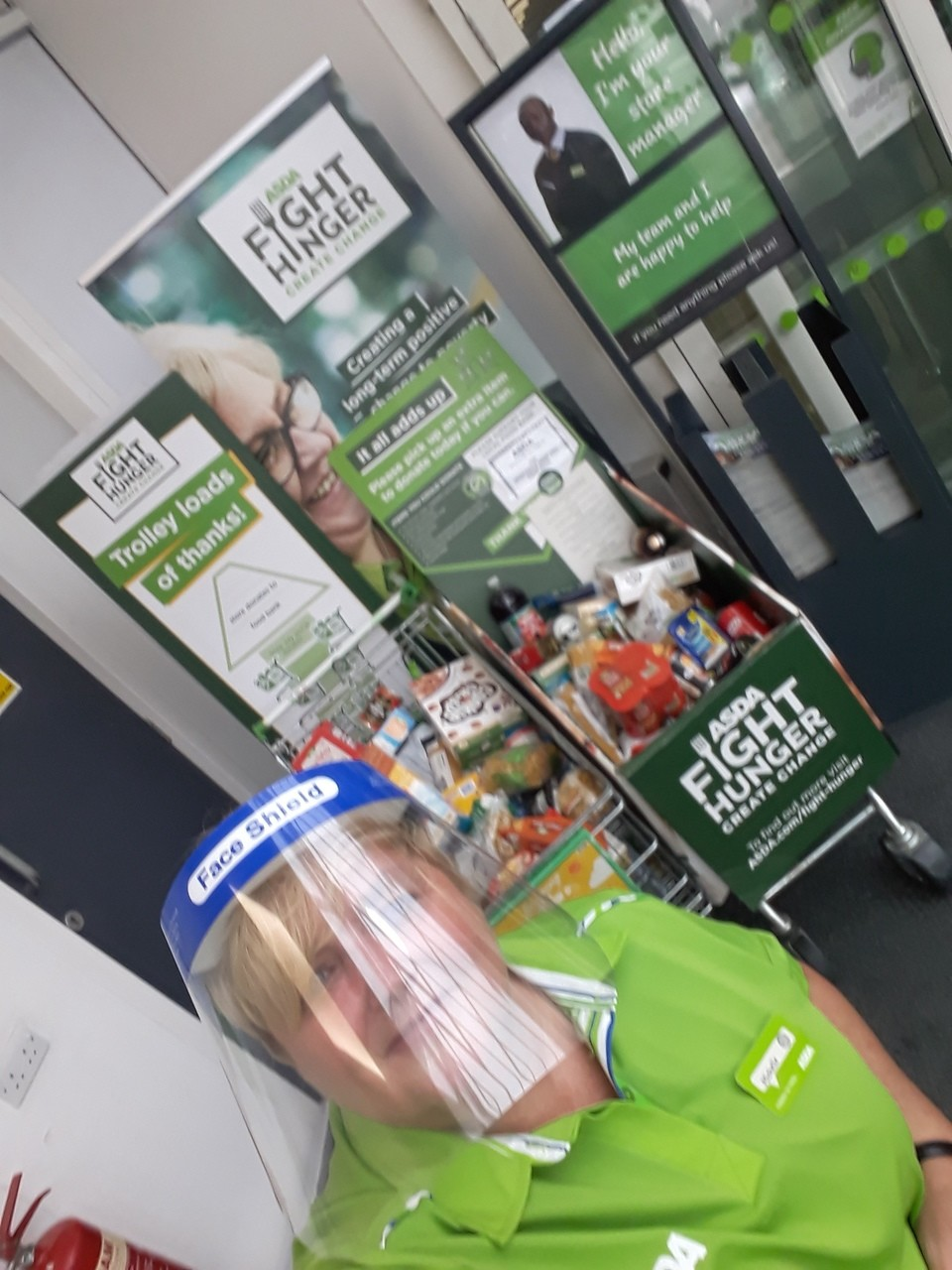 Fight hunger Create Change support  | Asda Gosforth