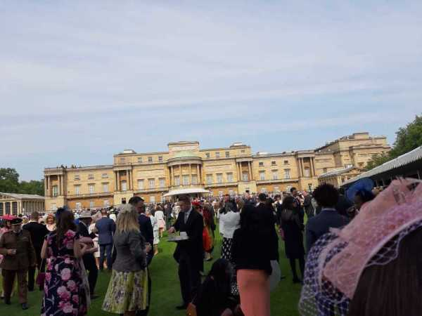 Laura Griffiths from Asda Bloxwich was invited to a Buckingham Palace garden party