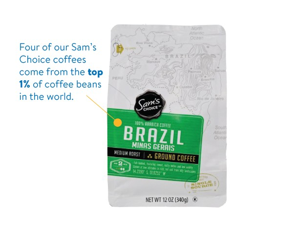 Sam's Club Brazil Coffee