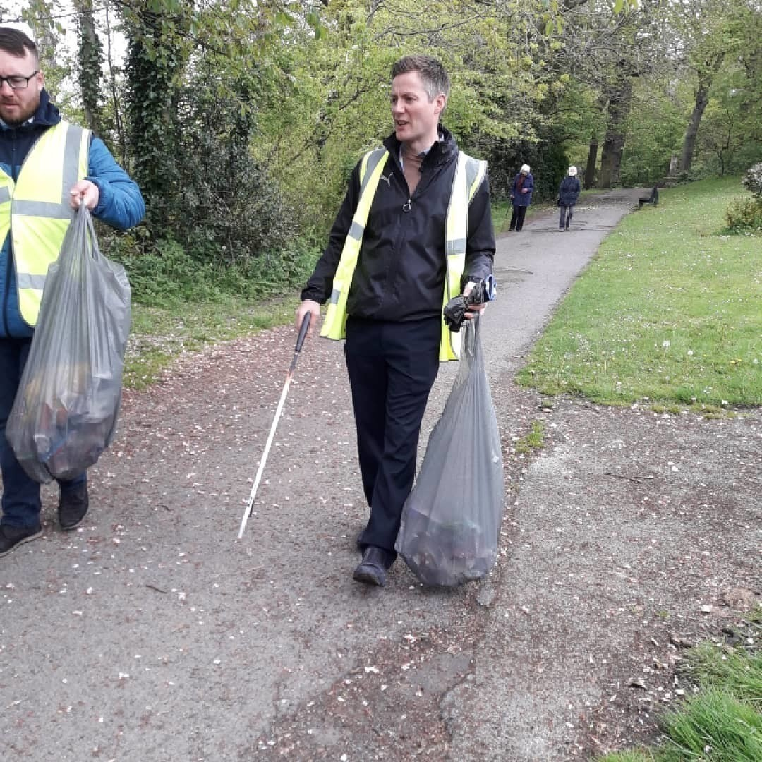 Colleagues take part in litter pick   Asda Chapeltown