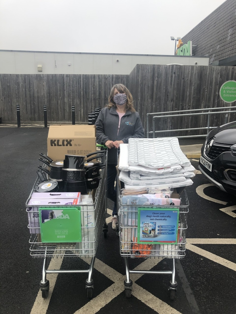 Stepping Stones donation | Asda Wakefield