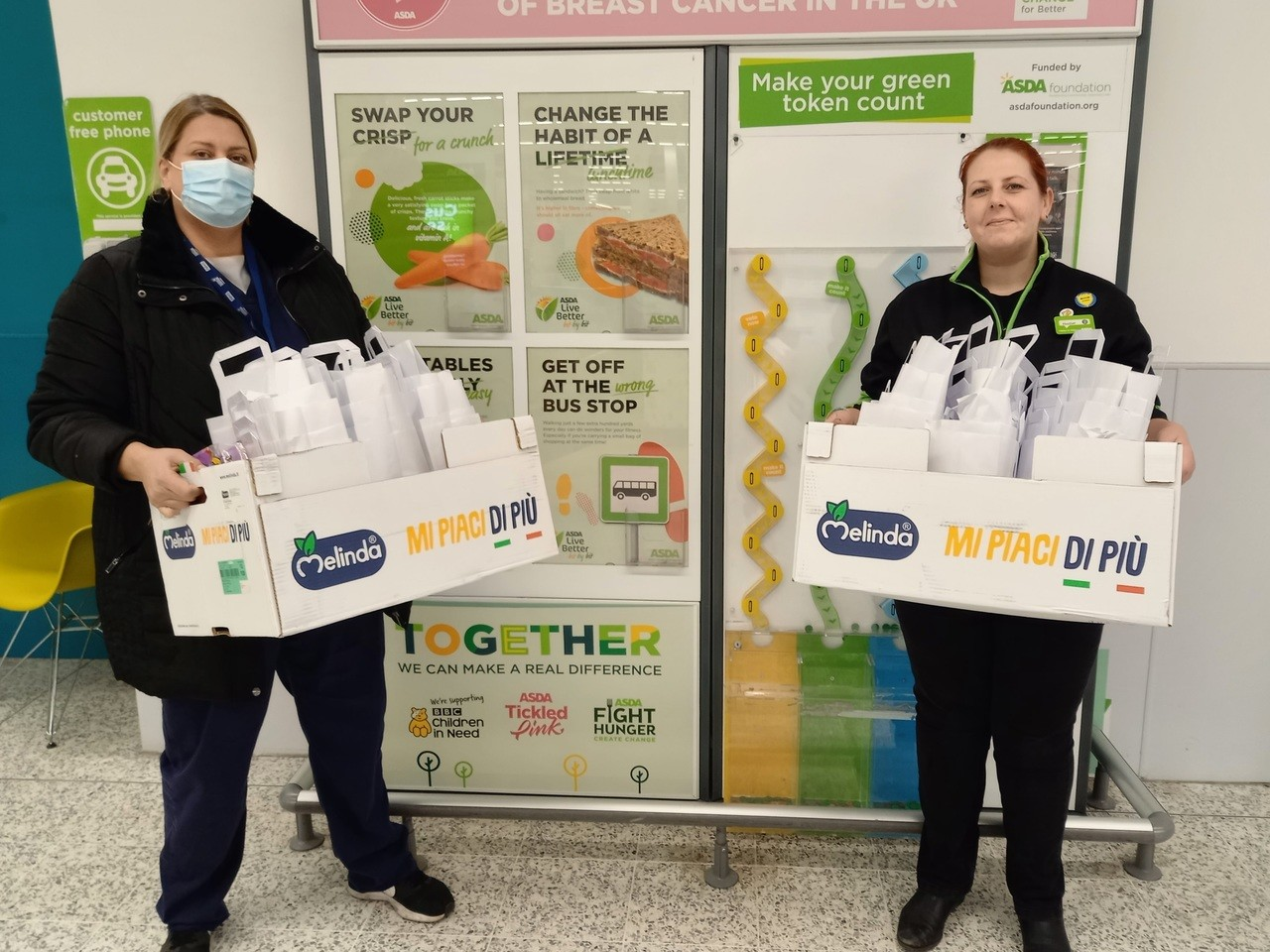 Supporting our local NHS vaccination centre | Asda Hyson Green