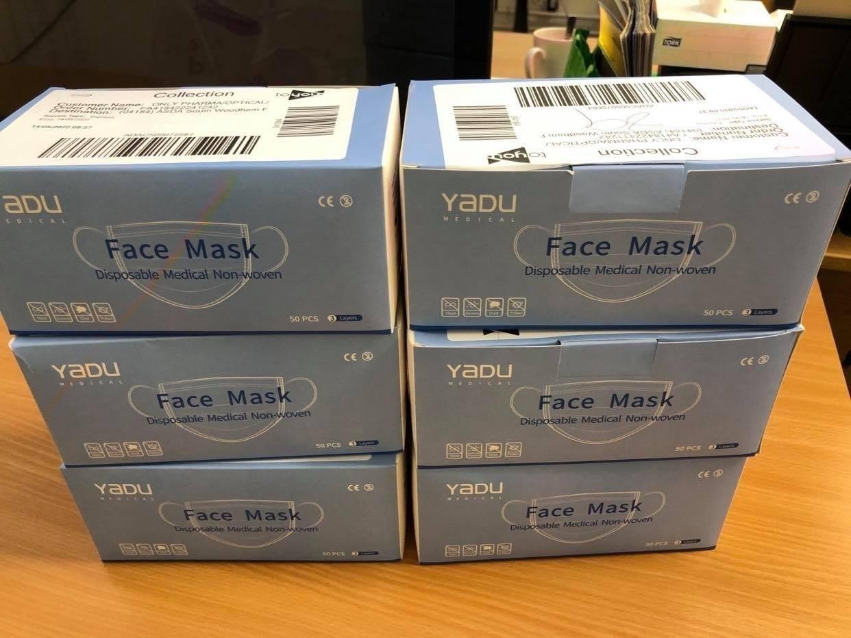 Mask donation South Woodham Ferrers | Asda South Woodham Ferrers