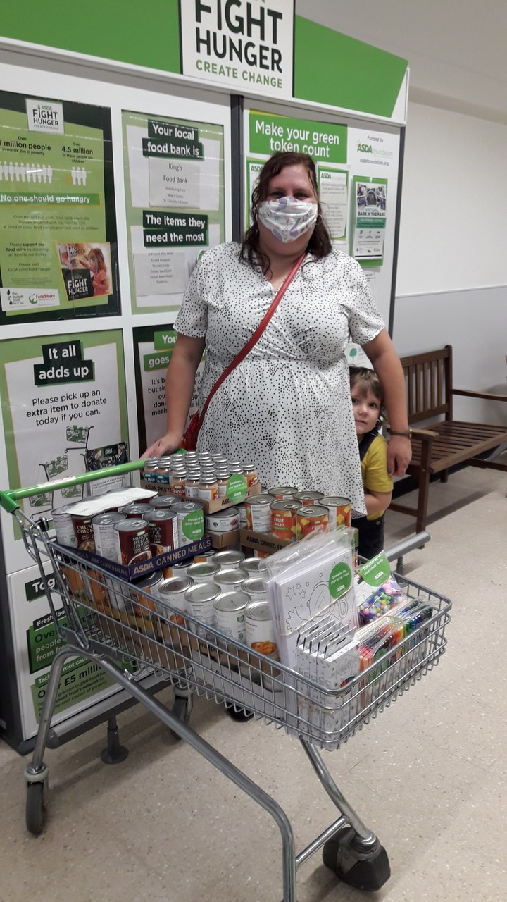 Food and crafts donation for Darlington Methodist Circuit | Asda Darlington