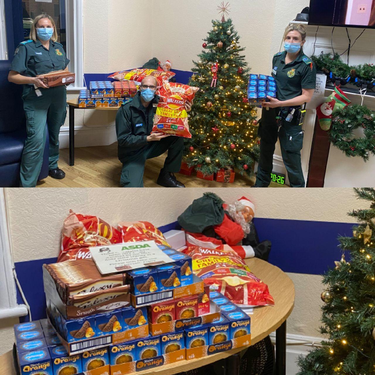 Donation to ambulance crews | Asda Castlepoint