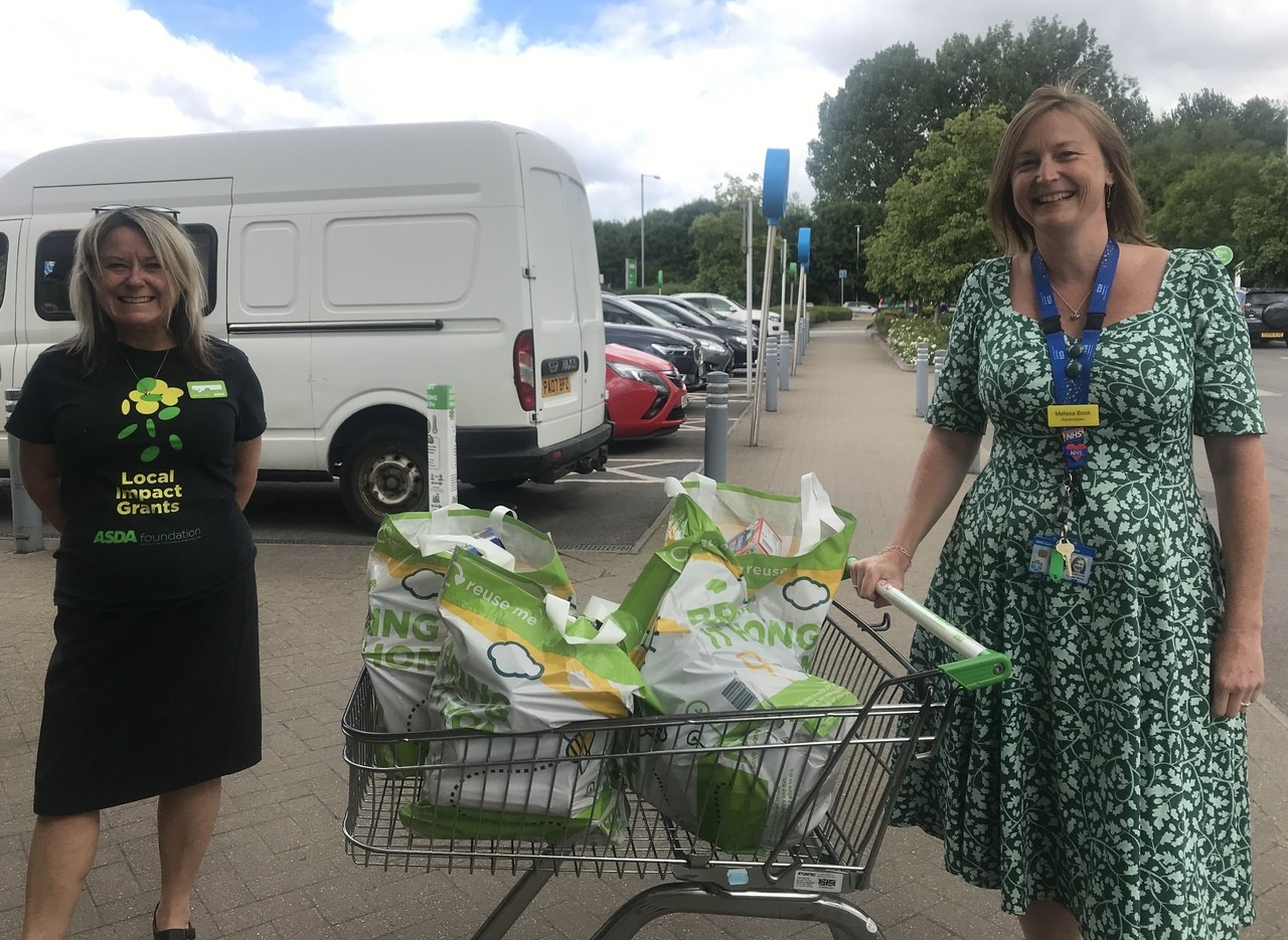 Thanks to Frome Community Hospital  | Asda Frome