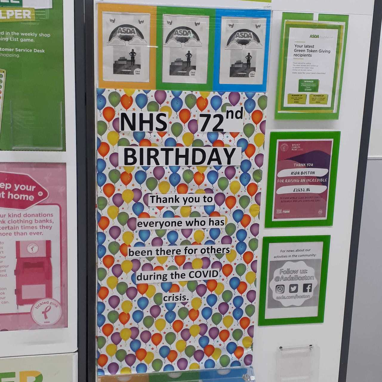 Celebrating the NHS | Asda Boston