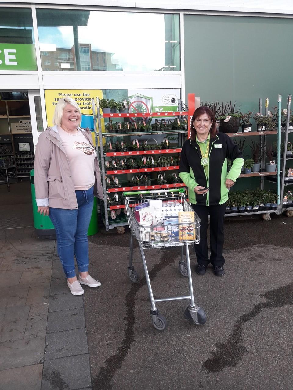 Asda Poole Forest holmes donation   Asda Poole