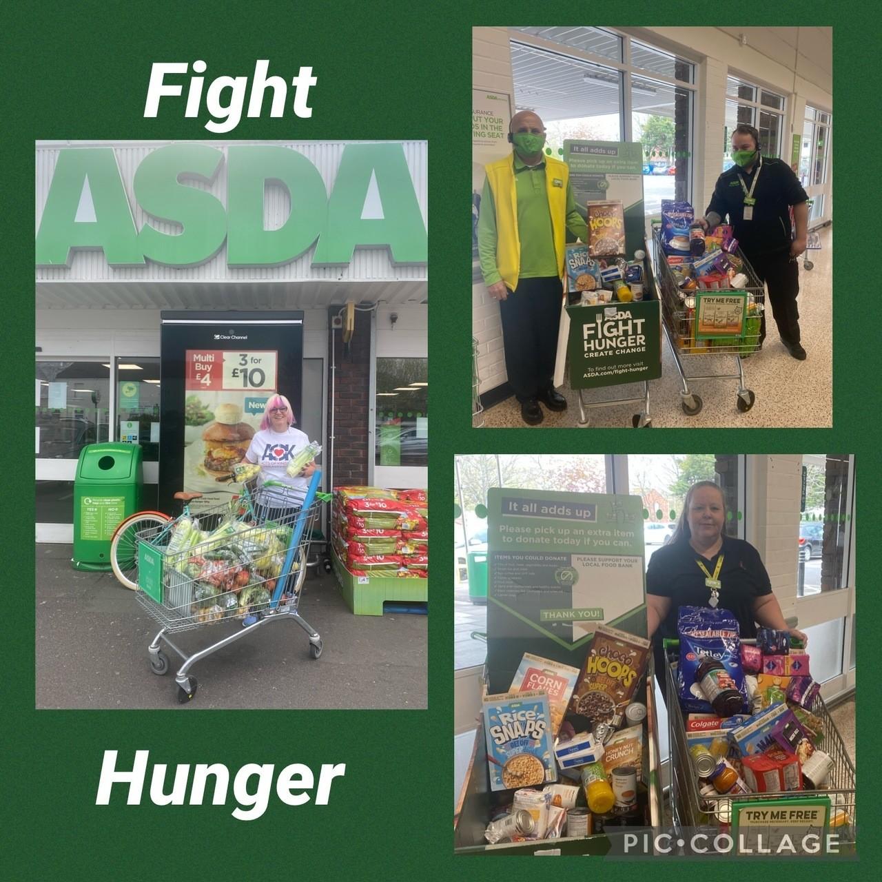 Fight Hunger Partnerships | Asda Gosport