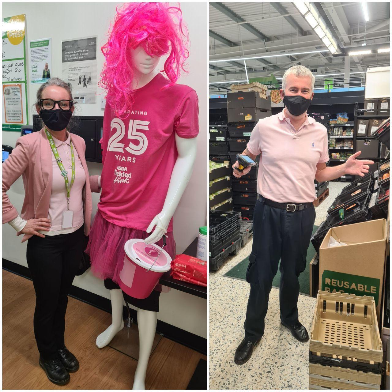 Ticked Pink | Asda Newport Isle of Wight