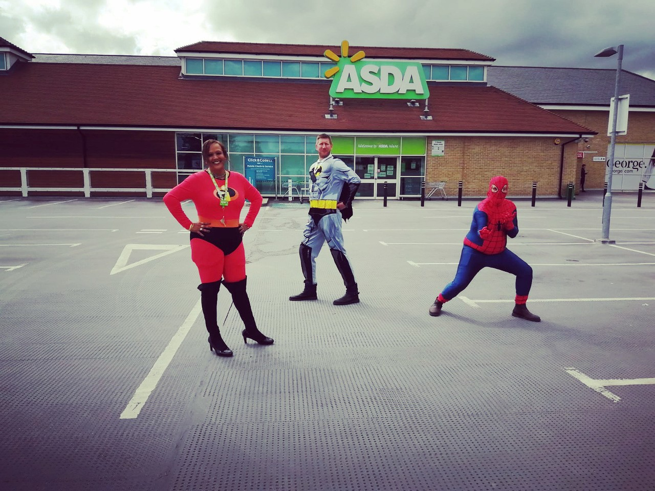 Superheroes, one and all! | Asda Ware