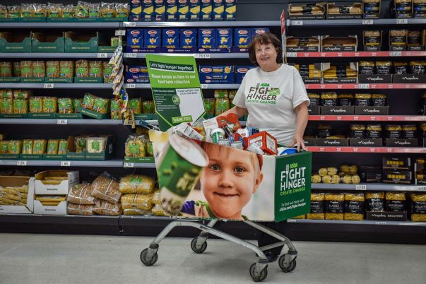 Asda Fight Hunger Create Change is investing £20m in FareShare and The Trussell Trust