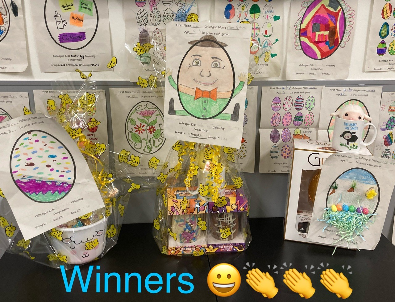 Winners of the Kids Easter Egg Competition | Asda Harlow