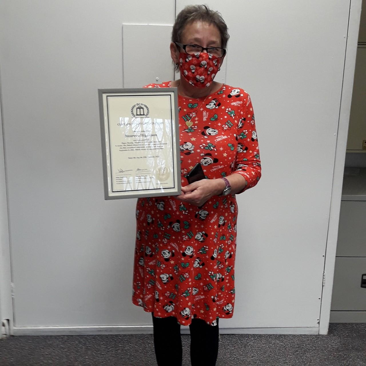 So proud to receive a British Citizen Award | Asda Wolverhampton