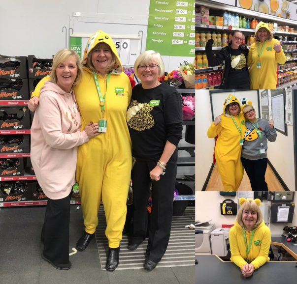 Asda colleagues fundraise for BBC Children in Need appeal