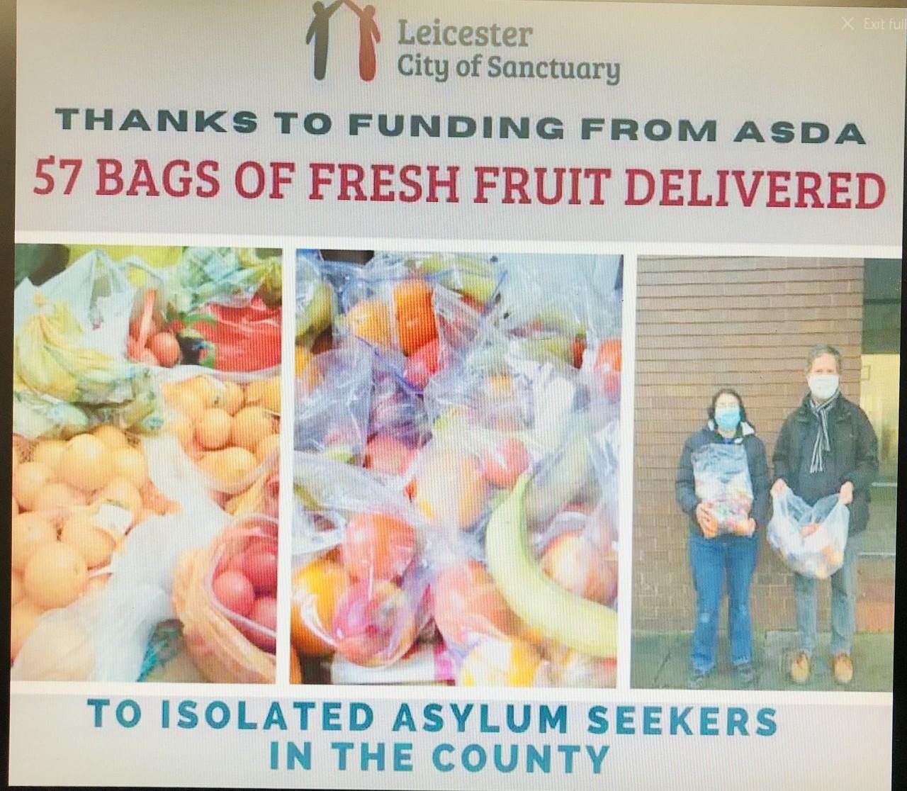 Lockdown Food Parcels | Asda Leicester Abbey Lane