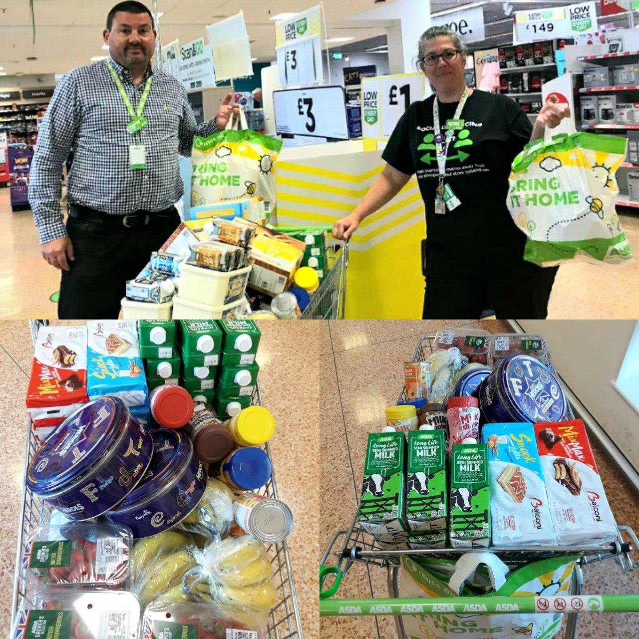 Turning Point donation  | Asda Leamington Spa