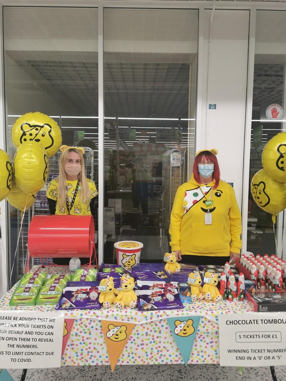 Raising funds for Children in Need | Asda Eastbourne