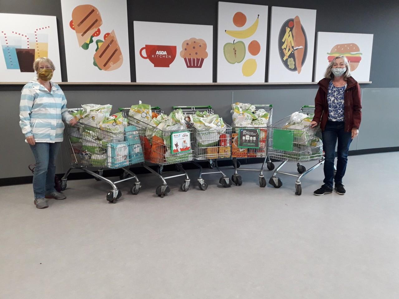 Foodbank donation | Asda Govan